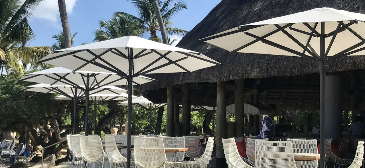 our resort umbrella - TYP S16 great design at wonderful settings