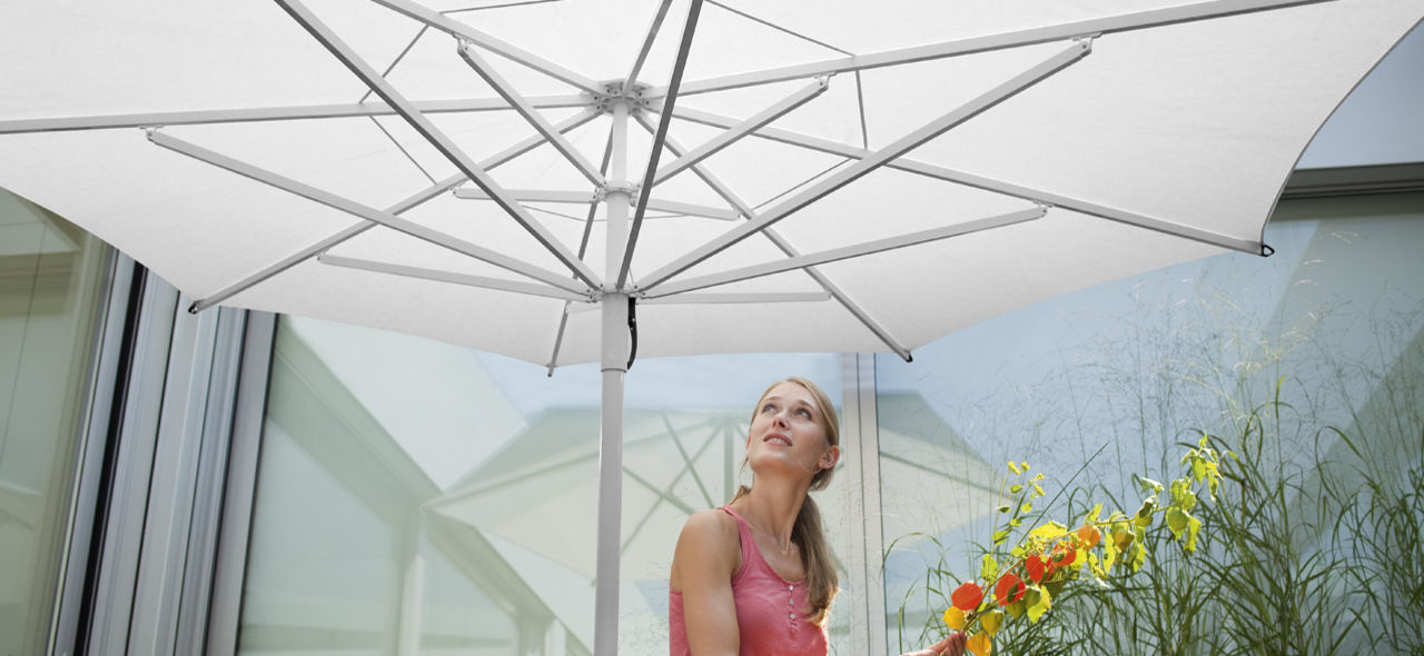 patio umbrella - TYP S16 Red Dot Design Award Winner